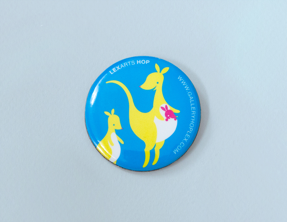 LexArts Gallery Hop Button