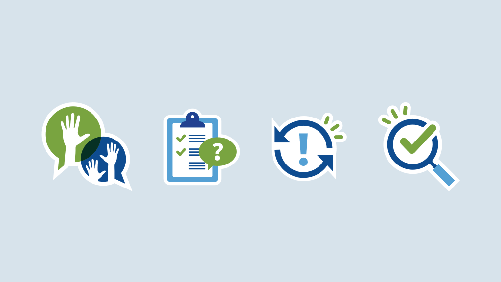 set of icons designed for Association of American Educators