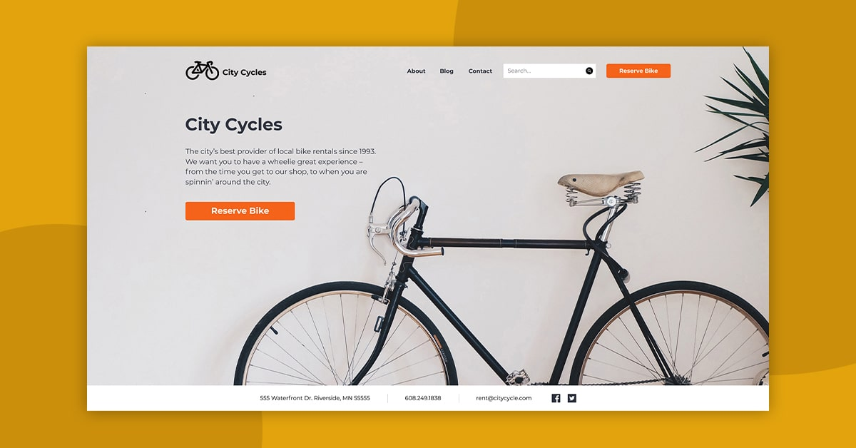 City Cycle UX project featured image